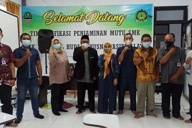 SMK Miftahul Huda AL Husna Diverifikasi BBPPMPV BMTI Jabar