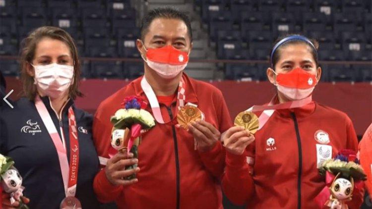 Indonesia Raih 2 Mendali Emas di Paralimpiade 2020