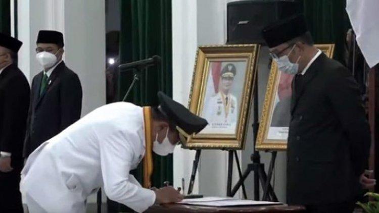 Sah, Muhammad Yusuf Kini Jadi Wali Kota Tasikmalaya