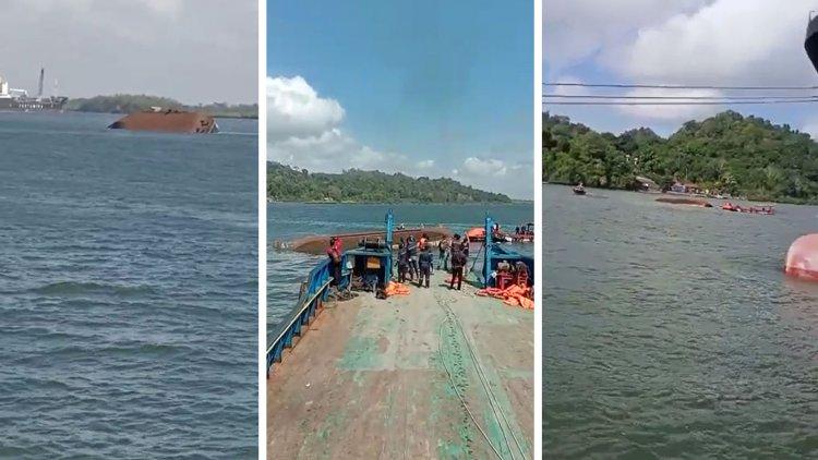 Kapal Pengayoman IV Kemenkumham RI Tenggelam, Dua Orang Tewas