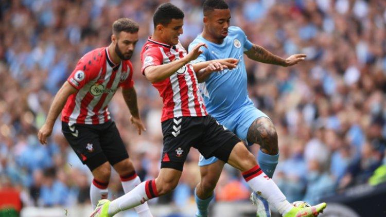 Southampton Tahan Laju Manchester City