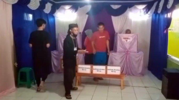 Unik, Kampung Kaledong  Gelar Pemilihan RW Rasa Pilkada
