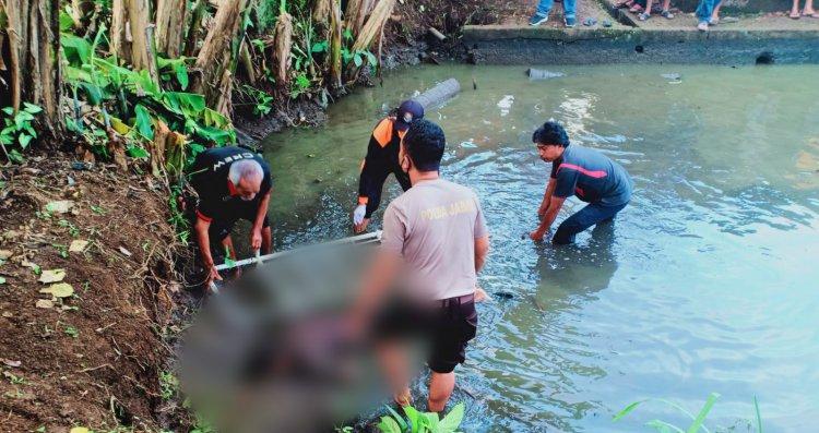 Pemuda di Tasik Ditemukan Tewas Mengambang di Kolam