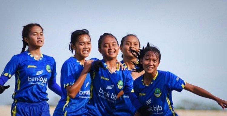 Sepak Bola Putri Jabar Libas Papua Barat dengan Skor Telak