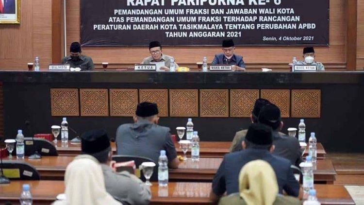 Pandangan Fraksi Gerindra Terhadap Raperda Tentang APBD Perubahan 2021